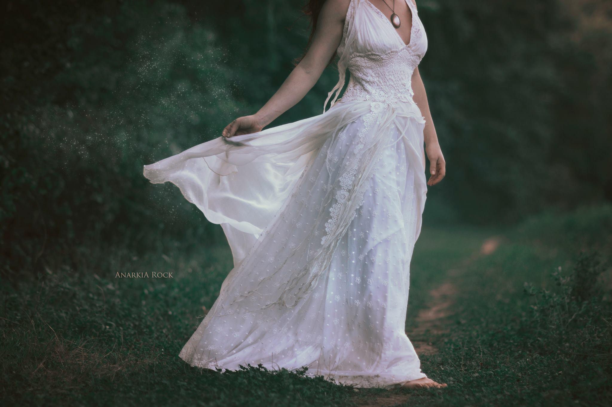 Robe de mariée Bohème en provence PACA