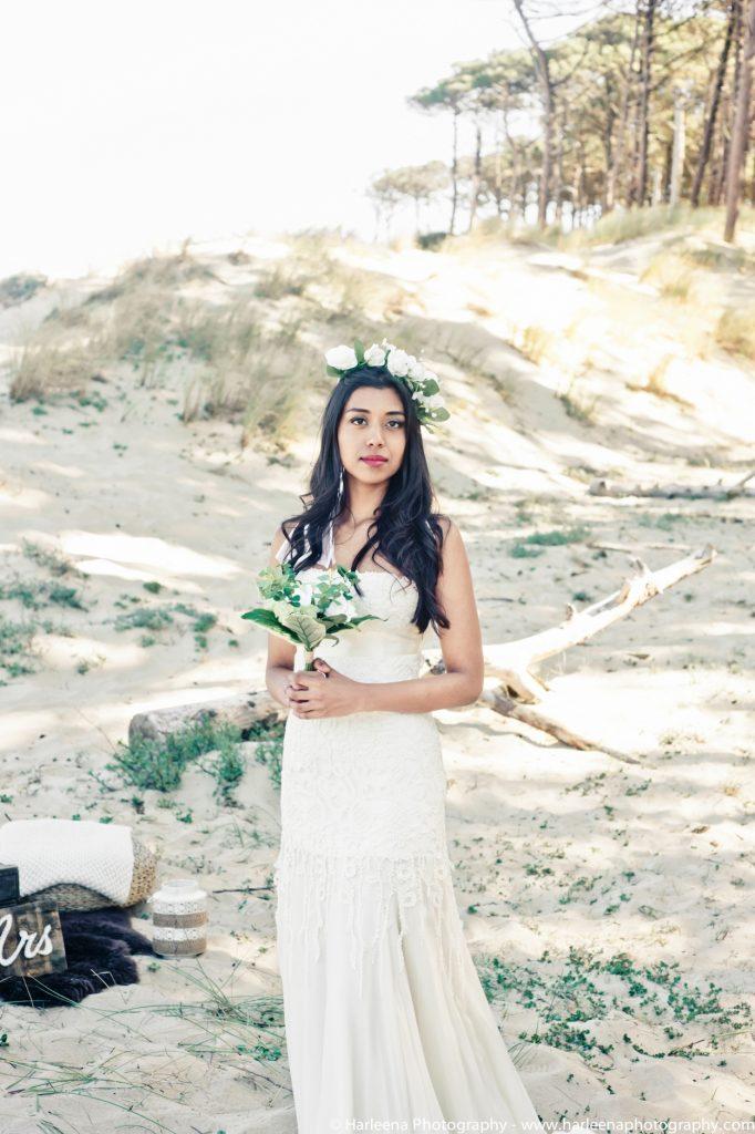 robe de mariée hippie chic Joan - Dune du Pilat
