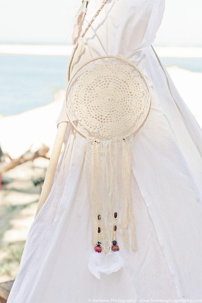 mariage hippie bohème - attrape-rêves