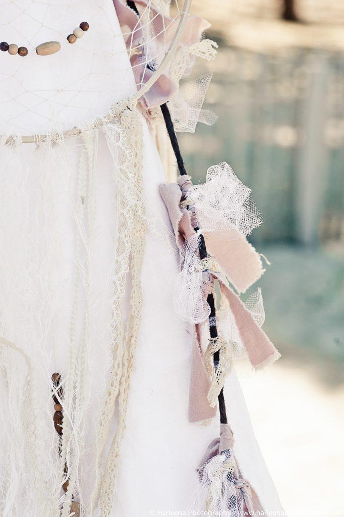 mariage boho décoration tipi