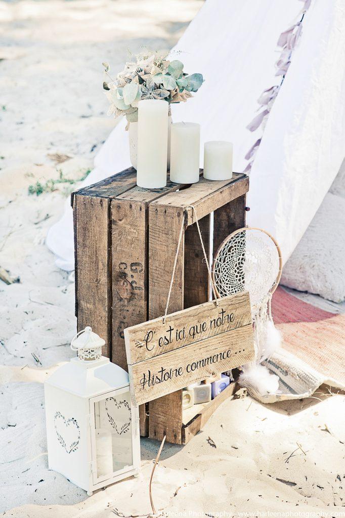 décoration hippie mariage