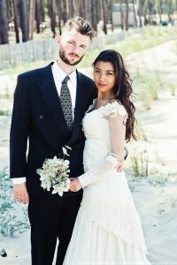 shooting inspiration mariage boheme - couple - dune pilat - Bordeaux
