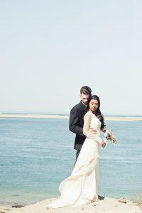 Inspiration mariage bohème - Robe de mariée bohème Santana - Dune du Pilat