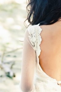 Robe de mariée bohème Santana - Dune du Pilat