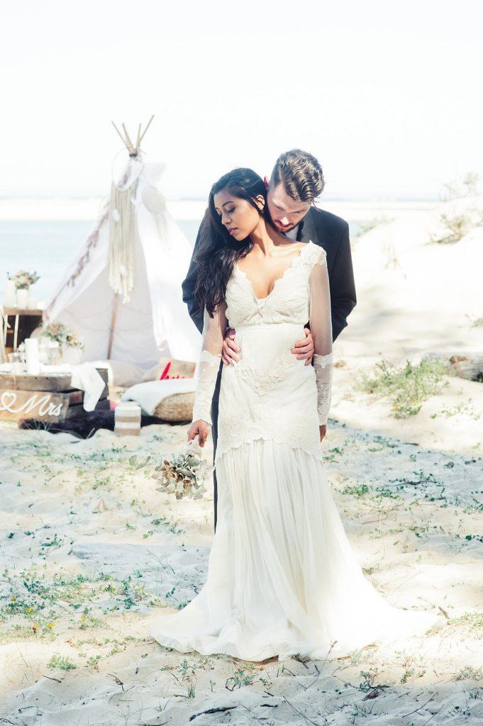robe-de-mariée-bohème-Santana