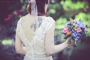Robe de mariée Champêtre Masha composée d'un top à assortir avec la jupe de son choix. Création Sur-mesure à Bordeaux