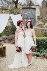 Robe de mariée bohème Joan par Pauline Maroussia P.
