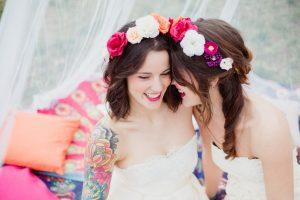 Inspiration-mariage-boho-chic-portrait-mariees