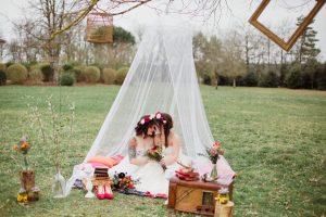 Inspiration-mariage-boho-chic-romantique-tente-voile