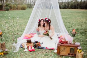 Inspiration-mariage-boho-chic-tente-voile