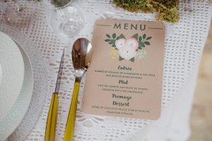 Inspiration-mariage-boho-chic-menu