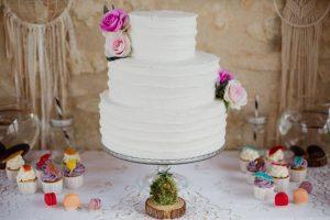 Inspiration-mariage-boho-chic-wedding-cake