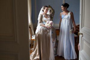robe de mariée princesse sur-mesure