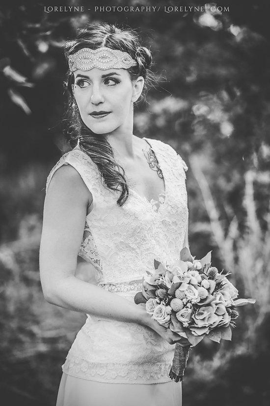 robe de mariée dentelle recyclée
