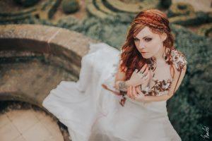 Robe de mariée féerique sur mesure Bordeaux Arcachon