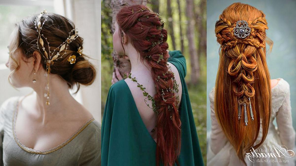 robe-mariee-medievale-coiffure