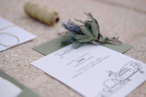 Mariage medieval papeterie