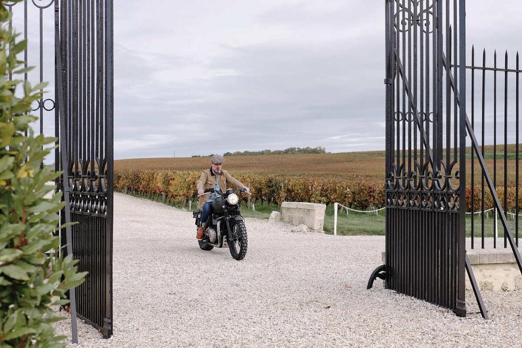 Château La Tour Carnet - arrivée du marié