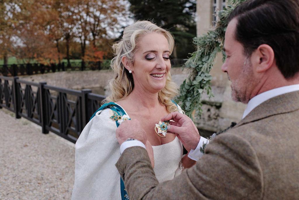 cape de mariage medieval elfique