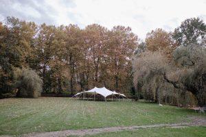 Mariage Cahateau La Tour Carnet - parc et tente