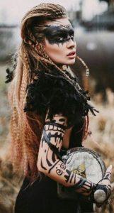 Coiffure-mariage-viking