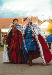 Mariage médiéval habillé par Andralys
