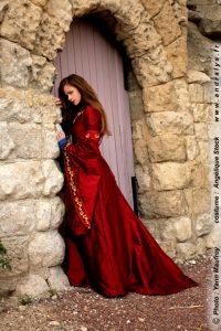 Robe de mariee medievale Andralys