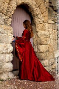 Robe de mariée médiévale Andralys sur mesure