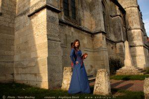 Robe de mariée médiévale - robe intérieure