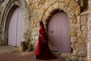 Robe de mariée médiévale sur mesure
