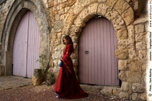 Robe de mariée médiévale sur mesure Andralys